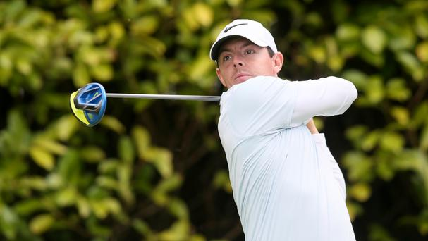 Rory McIlroy finished two shots off the lead at the Memorial Tournament