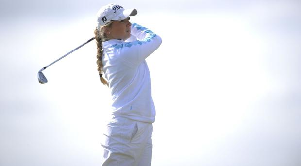 England's Bronte Law has four wins from four at the Curtis Cup