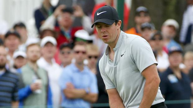 Rory McIlroy made a poor start to his bid for a second US Open title on Thursday (AP)