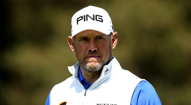 Lee Westwood was just a shot off the lead after his opening 67 in the US Open