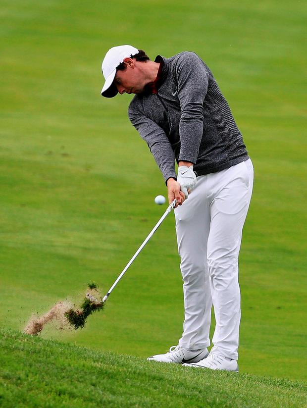 Bad habits: Rory McIlroy is working on how he can improve his game