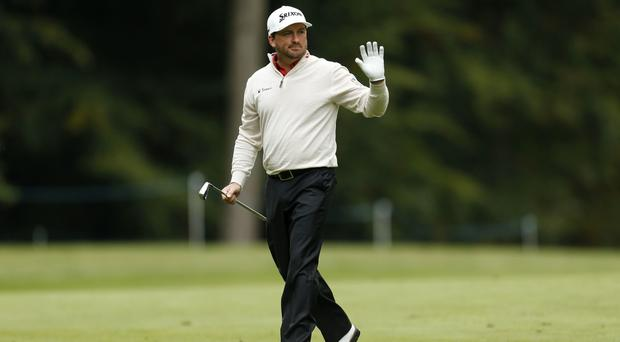 Graeme McDowell is in contention at the Aberdeen Asset Management Scottish Open