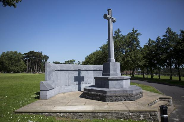The Cross of Sacrifice at Milltown Cemetery in west Belfast has been put forward to be granted a listed structure