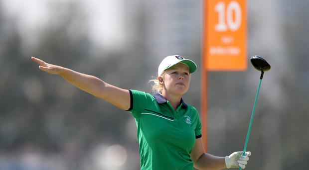 Stephanie Meadow is in contention in Canada