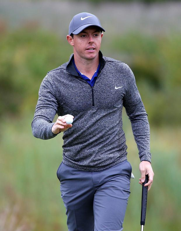 Applause: the plaudits are coming in thick and fast for Rory McIlroy