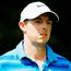 Closing in: Rory McIlroy is two shots off the leader, Dustin Johnson