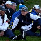 Andy North, left, was vice-captain to Tom Watson for the defeat at Gleneagles in 2014