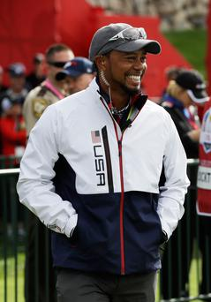 Tiger hunt: former world number one Woods is edging closer to playing in his first PGA Tour event for over a year following three back operations