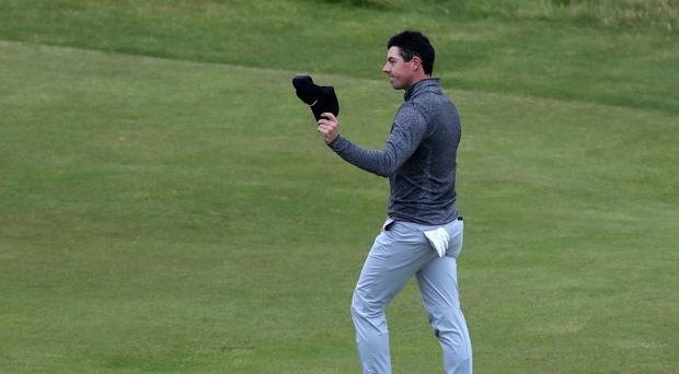 Rory McIlroy was pleased with his opening round at the BMW SA Open