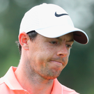 Out: Rory McIlroy has a rib injury