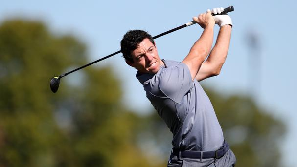 Missing Dubai: Rory McIlroy continues to battle a rib injury