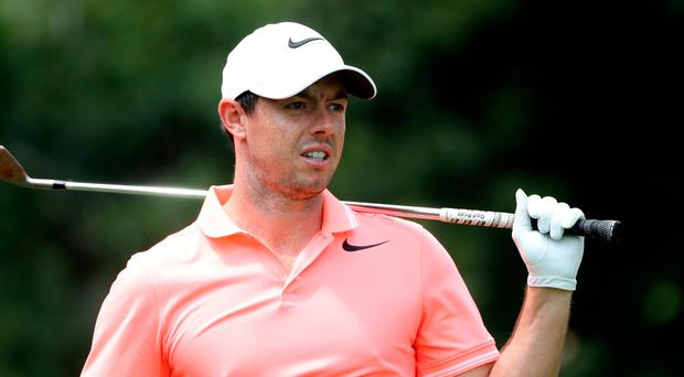 Stress fracture: Rory McIlroy is out of action until March