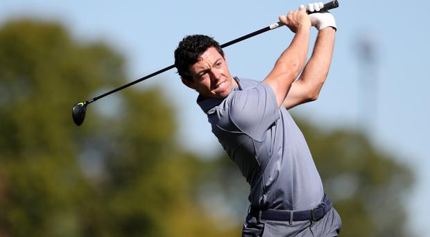 Rory McIlroy had to explain his round of golf with Donald Trump again