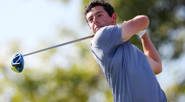 Rory McIlroy returns from an injury lay-off in the WGC-Mexico Championship