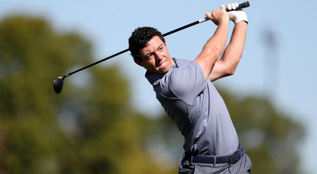 Rory McIlroy was back in action for the first time since January in Mexico