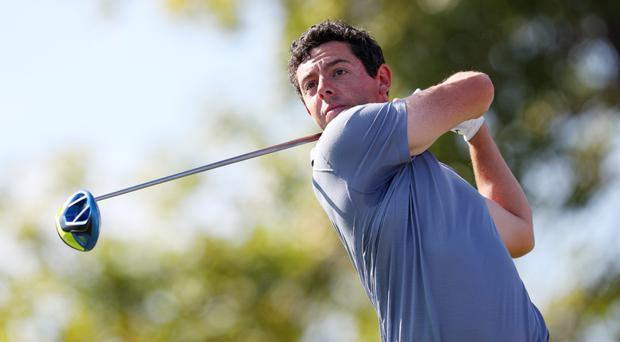 Rory McIlroy hit a seven-under par 65 in round three to move into contention