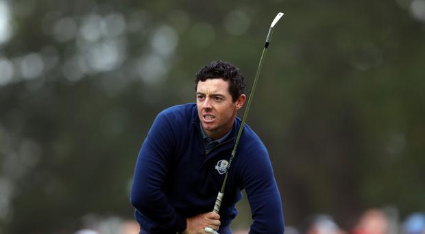 Rory McIlroy, pictured, would