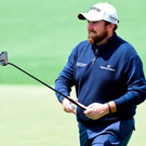 Tough lesson: Shane Lowry's good work on Thursday was undone during a challenging round two at Augusta