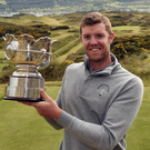 Peter O'Keeffe: With Flogas Irish Amateur Open trophy