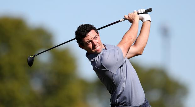 Rory McIlroy suffered pain in the Players Championship last week