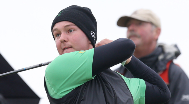 Close thing: Whitehead's John Galbraith had to settle for runner-up spot at the St Andrews Links Trophy