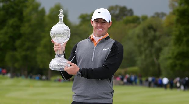 Rory McIlroy will defend his Irish Open title at Portstewart this week