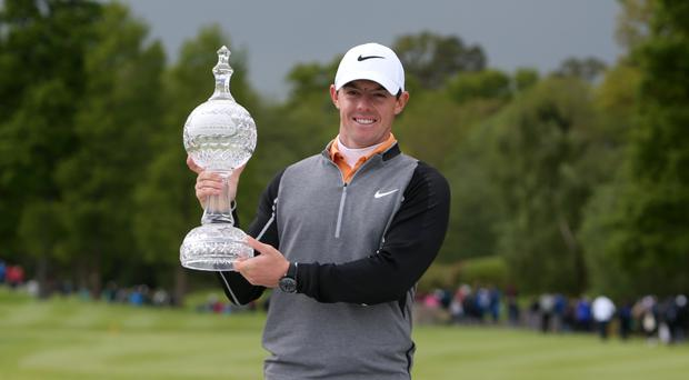 Defending Irish Open champion Rory McIlroy is determined to get back to world number one