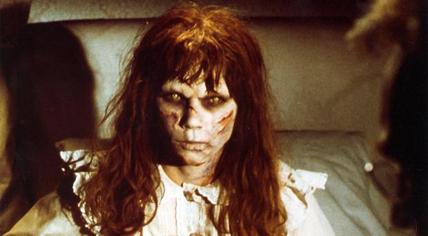 Linda Blair in The Excorcist