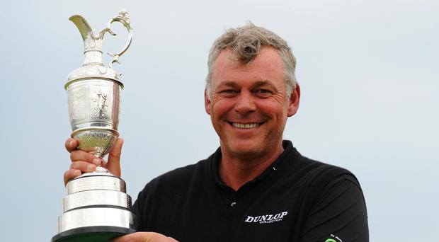 Former champion Darren Clarke expects to be fit for next week's Open at Royal Birkdale