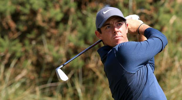 Rory McIlroy has been practising early at Birkdale ahead of the Open
