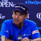 Double Open champion Padraig Harrington believes he has an advantage on a links course