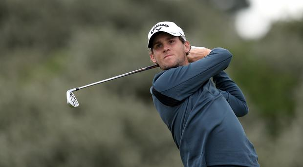 Belgium's Thomas Pieters surged into the lead on day three in Akron