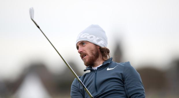 Tommy Fleetwood broke the course record at Carnoustie during the Alfred Dunhill Links Championship