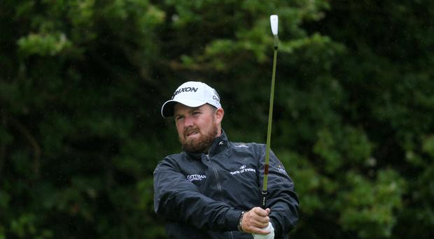 Shane Lowry claimed a share of the lead after 54 holes of the Turkish Airlines Open