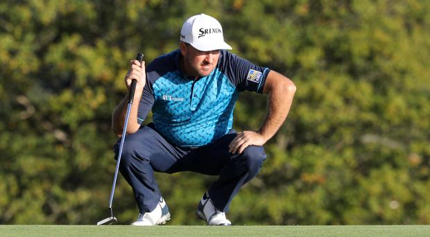Graeme McDowell and his playing partner Shane Lowry share the lead at the QBE Shootout in Naples, Florida