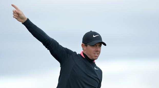 Rory McIlroy returns to action in the Abu Dhabi HSBC Championship