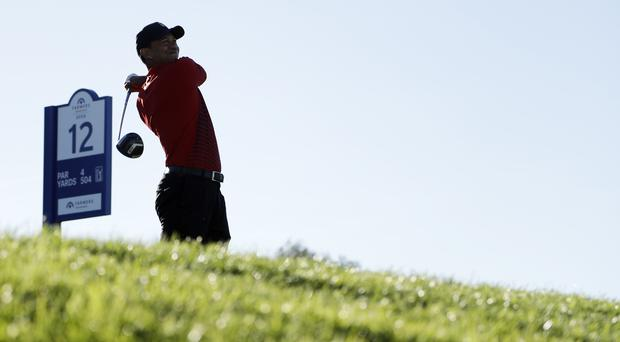 Tiger Woods was pleased with his week's work as his golfing comeback gathered pace