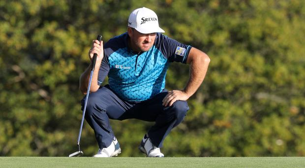 Northern Ireland's Graeme McDowell is tied for the lead (Owen Humphreys/PA)