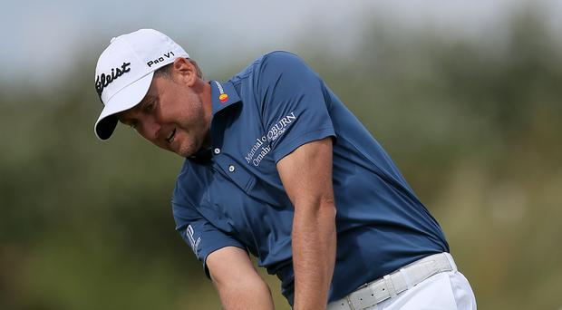 England's Ian Poulter fell short after a poor final round in South Carolina (Richard Sellers/PA)