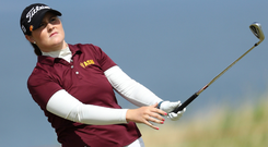 Olivia Mehaffey will play in her third major championship this week.