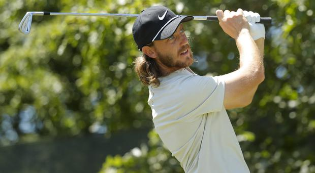 Tommy Fleetwood enjoyed a strong start to his final round (Carolyn Kaster/AP)