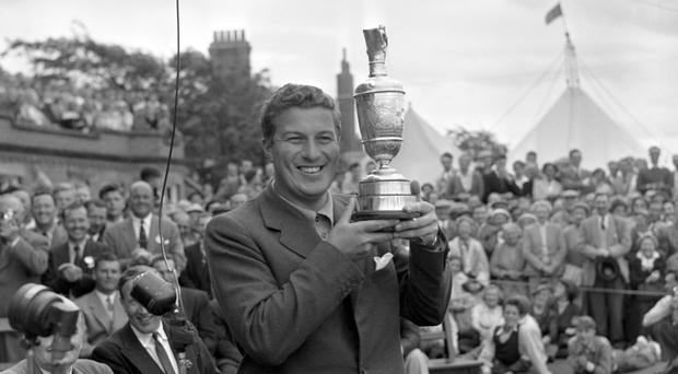 Australian Peter Thomson was a five-time winner of the Open Championship (Credit: PA).