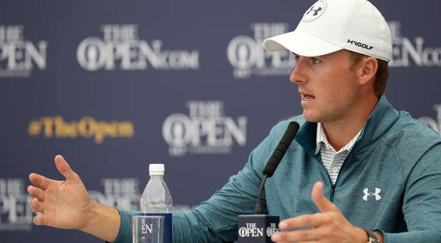 Defending Open champion Jordan Spieth believes his generation is the best and most fearless in history (Jane Barlow/PA).