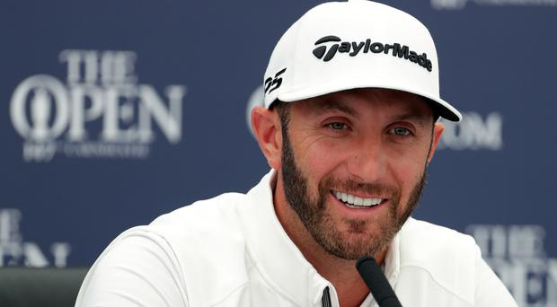 Dustin Johnson is one of the favourites to win the Open (Richard Sellers/PA)