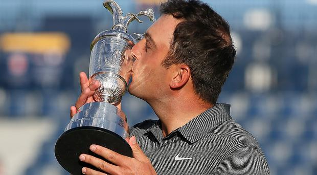 Francesco Molinari became the first Italian winner of a major on Sunday (Richard Sellers/PA)