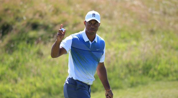 Tiger Woods only returned to competitive golf in November (PA)