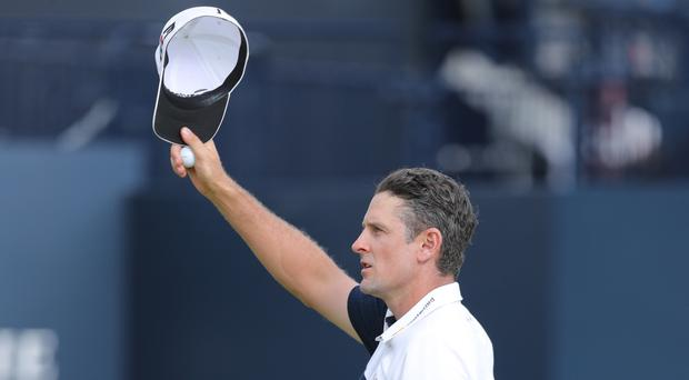 Justin Rose is golf's new world number one (Richard Sellers/PA)