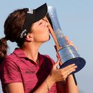 Georgia Hall is in contention for another major title (Richard Sellers/PA)