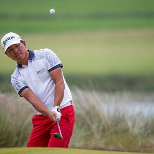 Wu Ashun, pictured, held off Chris Wood to win the title in Spijk (Kerry Smith/PA)