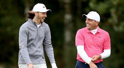 Tommy Fleetwood is chasing Ryder Cup team-mate Francesco Molinari in the Race to Dubai (Steven Paston/PA)